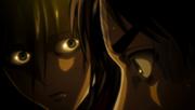 Mikasa parle a eren