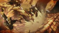Eren greift Mikasa an (Anime)