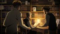 Rod und Uri unterhalten sich mit ihrem Vater