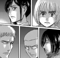 Squad Levi reaction