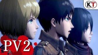 PV2 ゲーム『進撃の巨人2』PS4 PS Vita Switch Steam
