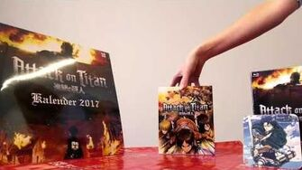 Attack on Titan - Unboxing