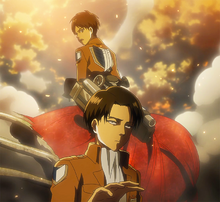 Levi defends Eren