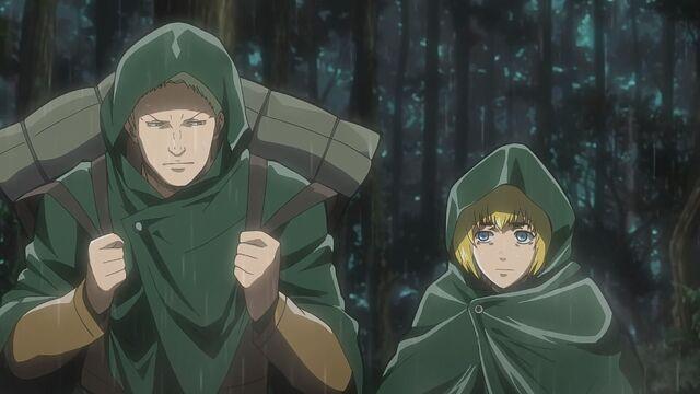 File:Reiner wears Armin's bag.jpg