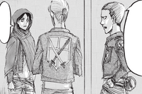 Eld and Gunther ask Eren about his friends