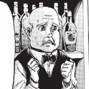 Owner of the saloon where Levi fled character image