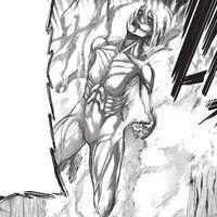 The Female Titans second transformation