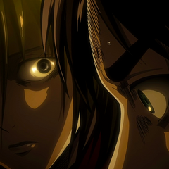 Mikasa cuestiona a Eren.