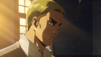 Erwin refuses to stay back
