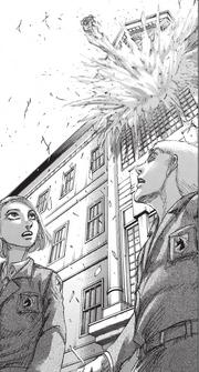Explosion du bureau de Daris
