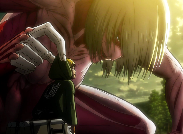 File:Armin encounters the Female Titan.png