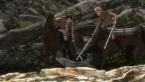Eren stops Jean