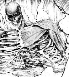 Il Gigante di Eren protegge Armin e Mikasa