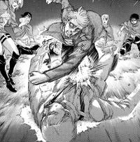 Jean punches Reiner