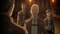 Pixis informiert Erwin über den Stand der Verhörungen