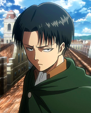 Levi in anime