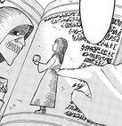 Фрида указывает на Имир в книге манга