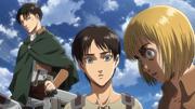 Armin découvrant ce qu'il s'est passé