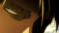 Levi sees Petra's corpse thrown away