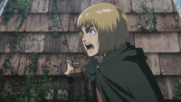 Armin attempts to negotiate