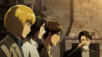 Armin bei einer Besprechung