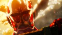 Colossal Titan anime