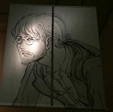 Isayama draws mystery man