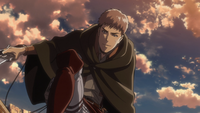 Jean tries to talk down Bertholdt