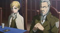 Historia and Zachary preside a meeting