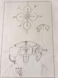 Cartman Panzer schematics
