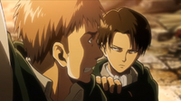 Levi hält Jean zurück