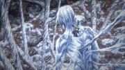Impressionnante auto pétrification d'Eren