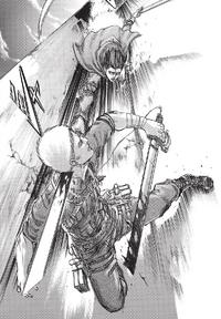 Levi versucht Reiner zu töten