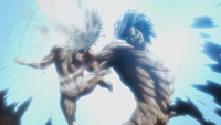 Eren kills the small Titan