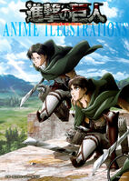 Attack on Titan Anime Illustrations