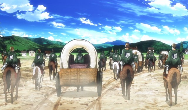 File:The Survey Corps leaves Trost District.png