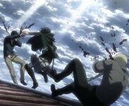 Mikasa contre attaque