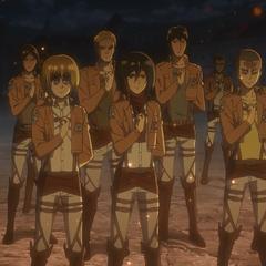 Новые солдаты  Разведкорпуса