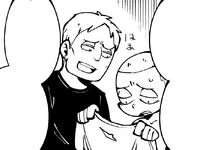 Reiner offers to sew Connie's shirt