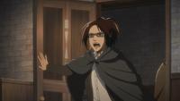 Hanji berichtet Erwin von den Ereignissen
