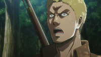 Reiner sees the wild boar