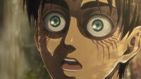Eren argues in the forest