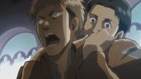 Marco calms Jean down