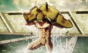 Kruger destroys the steamboat