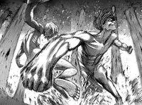 Eren vs the Female Titan