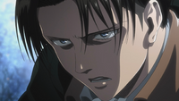 Levi vows to take down the Beast Titan