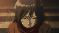Mikasa yearns for the old days