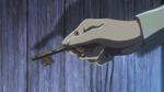 Eren uses the basement's key