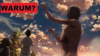 Wieso fressen Titanen die Menschen? Attack on Titan