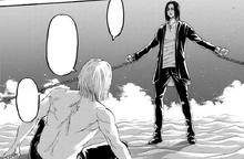 Zeke realizes that Eren manipulated Grisha